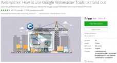 Udemy Coupon – Webmaster: How to use Google Webmaster Tools to stand out