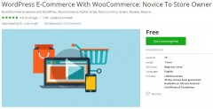 Udemy Coupon – WordPress E-Commerce With WooCommerce: Novice To Store Owner