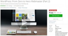 Udemy Coupon – WordPress: From Zero to Hero Webmaster (Part 2)