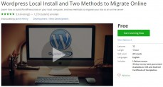 Udemy Coupon – WordPress Local Install and Two Methods to Migrate Online