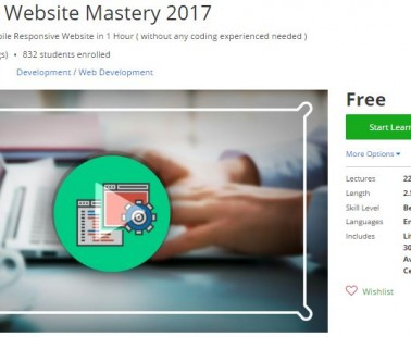 Udemy Coupon – WordPress Website Mastery 2017